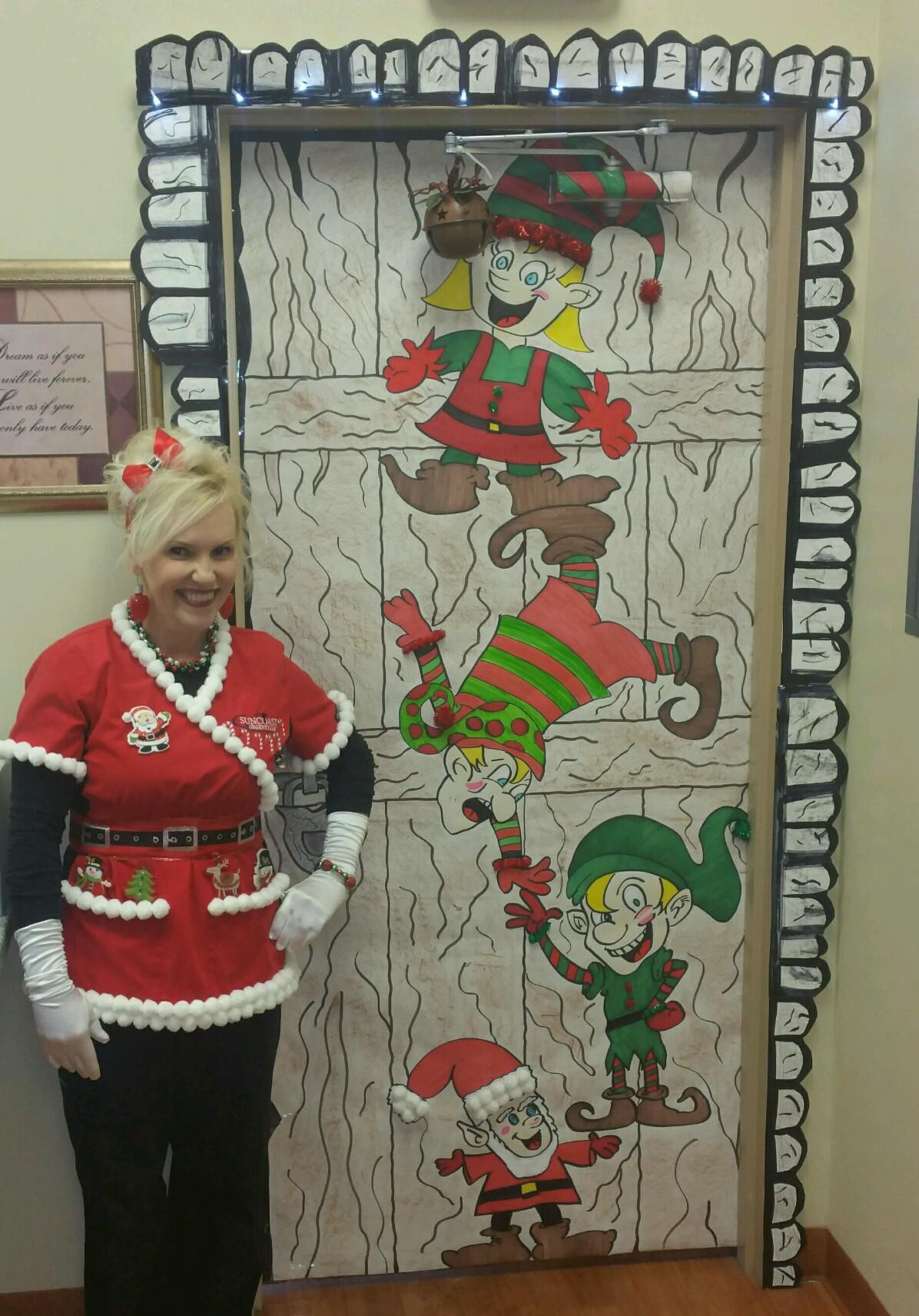 Holiday Fun With Door Decorating Contest Suncoast Urgent